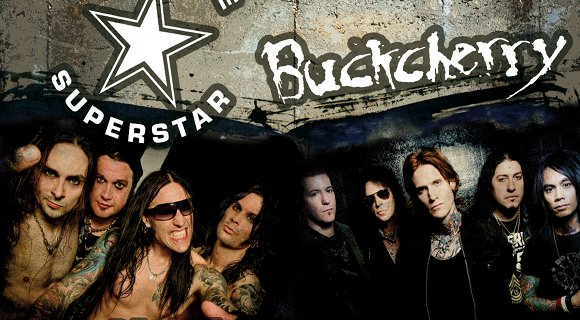 Hardcore Superstar Buckcherry